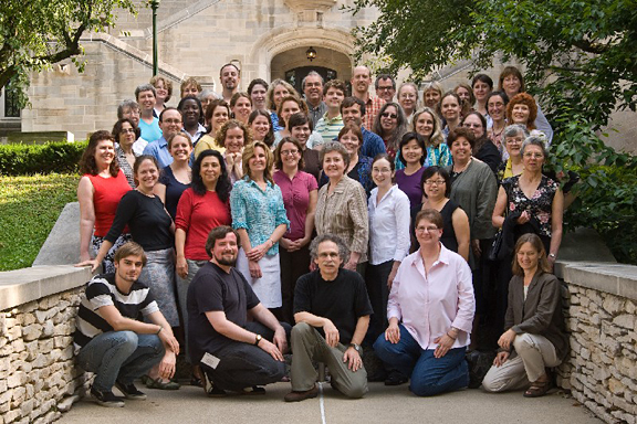 2007, Indiana University, Bloomington, IN, Group Photo