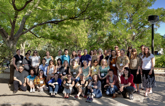 2011, University of New Mexico, Albuquerque, Group Photo