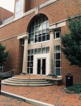 Sloane Art Library Entrance